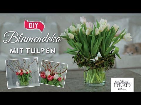 How To H Bsche Fr Hlings Blumendeko Mit Tulpen Deko Kitchen