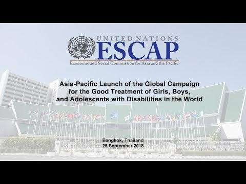 Asia-Pacific Launch of the Global Campaign