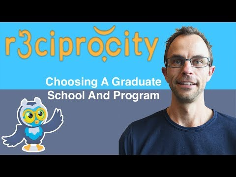 How To Choose Your Graduate School And Program - Thesis Help