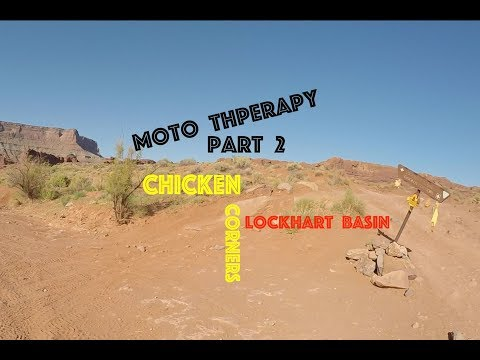 Africa Twin Moto Therapy in Moab Part 2 Chicken Corners
