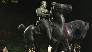 Confederate monuments coming down across the U S