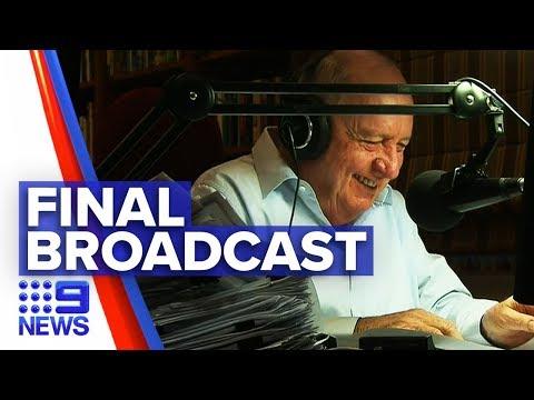 Alan Jones Signs Off Radio Career | Nine News Australia