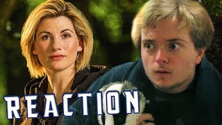 DOCTOR WHO: 13th DOCTOR REACTION/DISCUSSION