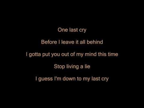 Michael Pangilinan - One last cry lyrics(HD)