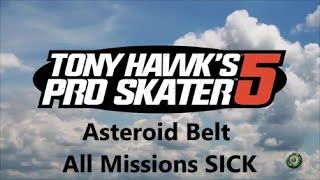 Tony Hawk's Pro Skater 5: Asteroid Belt: All Missions SICK (Light Headed Achievement)