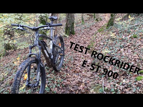 Test VTT électrique Décathlon ROCKRIDER E-ST 900