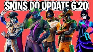 NEW SKINS, STARTER PACK, PICKAXES AND MORE LEAKED! UPDATE 6.20-Fortnite