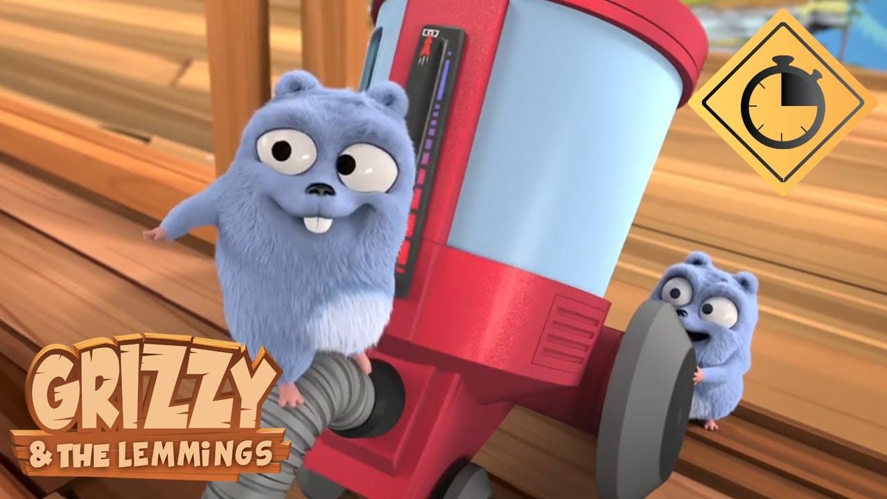 🐻15 minutes de Grizzy & les Lemmings // Compilation #6 - Grizzy & les Lemmings