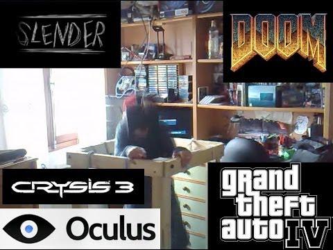 Andador de Realidad Virtual casero (Susto mortal con Slender)