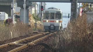 2017年1月5日 名鉄名古屋本線・各務原線・犬山線編 キハ25形 那加駅ー長森駅 通過