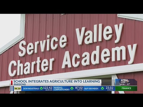 Service Valley Charter Academy integrates agriculture into lessons