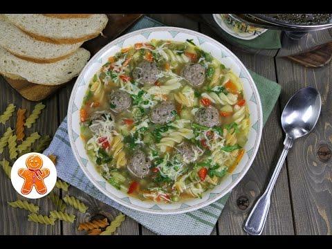 Суп с фрикадельками, рецепт супа с фрикадельками