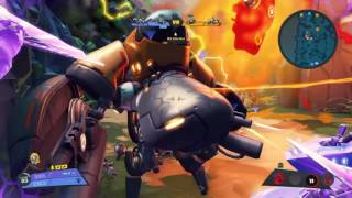 Battleborn Epic 4v5 Win (Deande 7 Kills)
