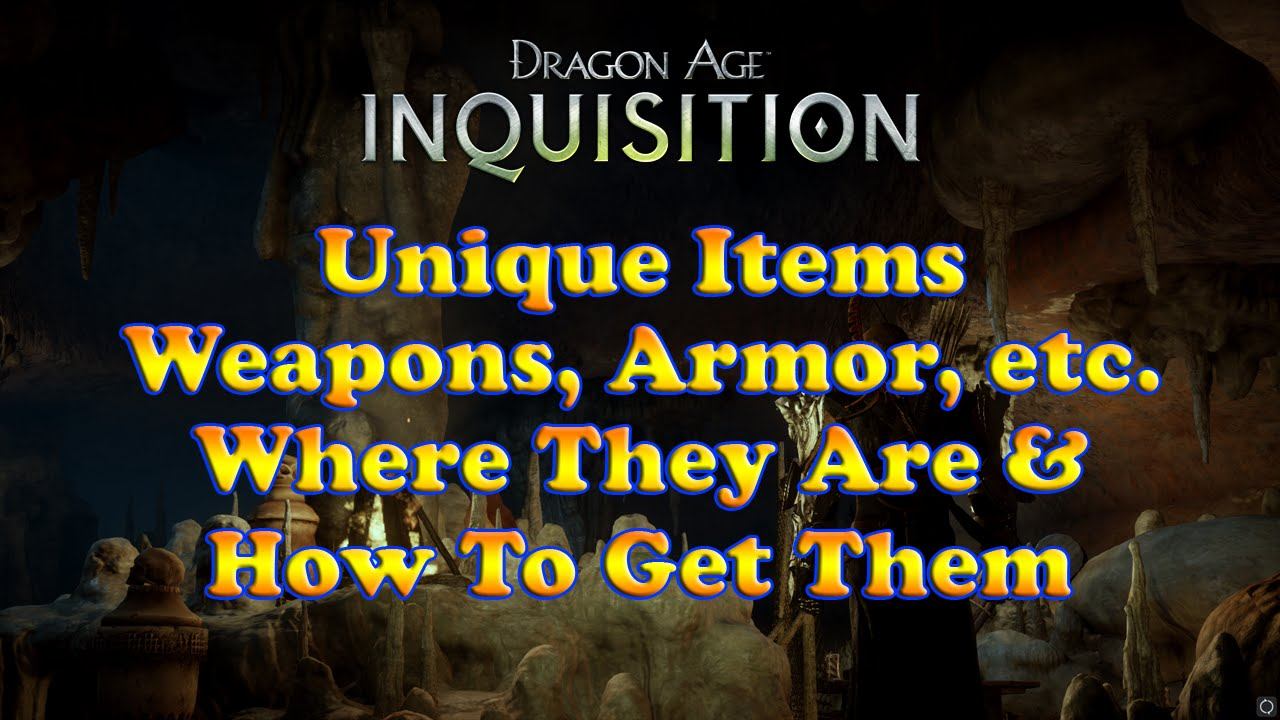 Dragon Age  List Of Rings