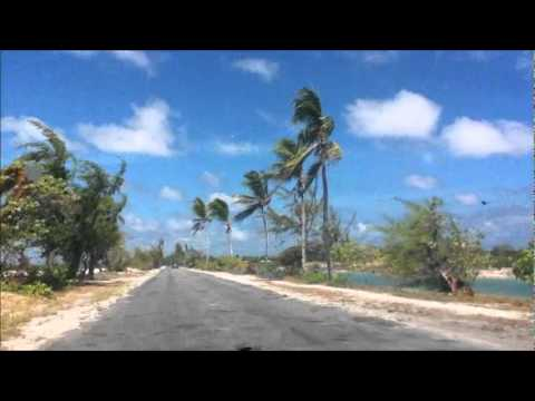 Tarawa towards airport and north island