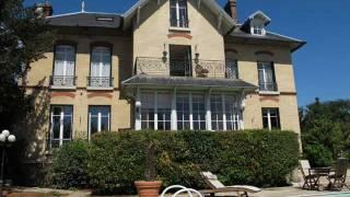 Immobilier Paris - Vente maison de charme avec piscine Yvelines.wmv