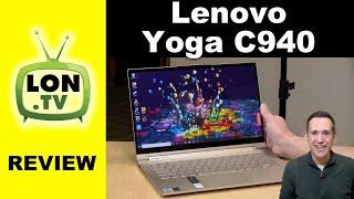 Lenovo Yoga C940 Review - With new Intel Iris Graphics i7-1065G7