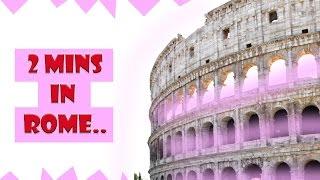 Рим достопримечательности(В этом коротеньком видео не более 2х минут вы посетите Рим летом. Я расскажу свои впечатления об этом городе..., 2015-07-17T11:55:32.000Z)