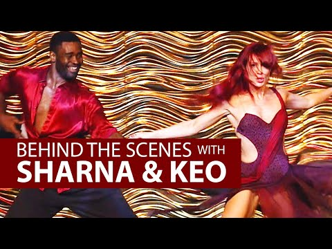 SHARNA & KEO G'DAY USA  - BEHIND THE SCENES