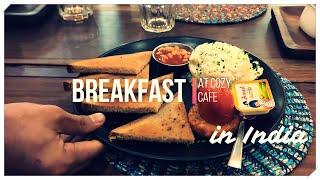 【インド】おしゃれカフェでモーニング【チャンディーガル】