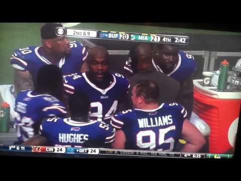 What Mario Williams really said to Kyle Williams!!!  Bills vs Dolphins October 20th 2013