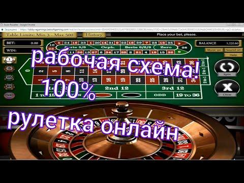РУЛЕТКА  100% ТАКТИКА  ИГРЫ В КАЗИНО