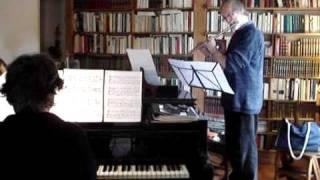 Johann Pachelbel:  Canon  (flute & piano)