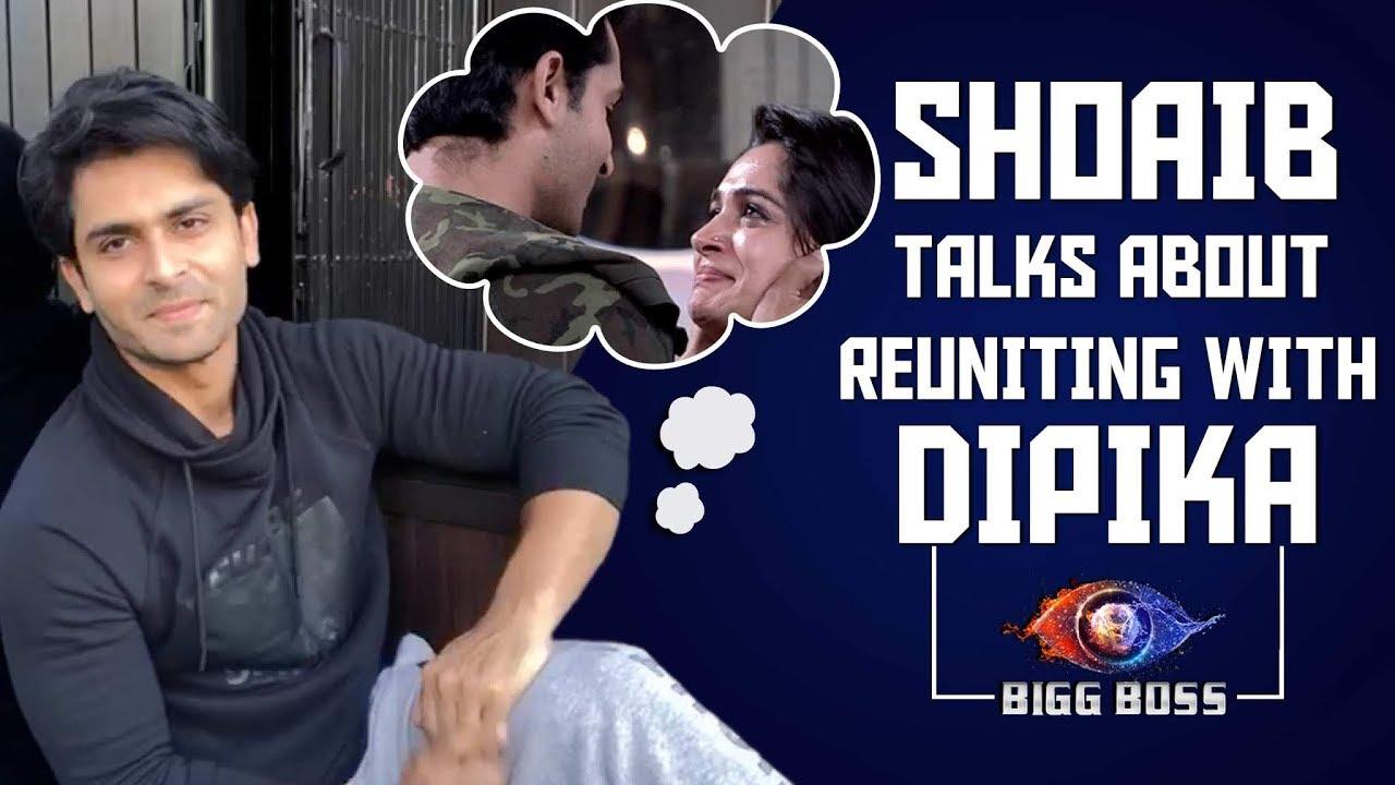 Shoaib Ibrahim Talks About Meeting Wife Dipika Kakar After Months | Bigg Boss 12 | Family Week