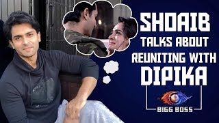 Shoaib Ibrahim Talks About Meeting Wife Dipika Kakar After Months | Bigg Boss 12 | Family Week