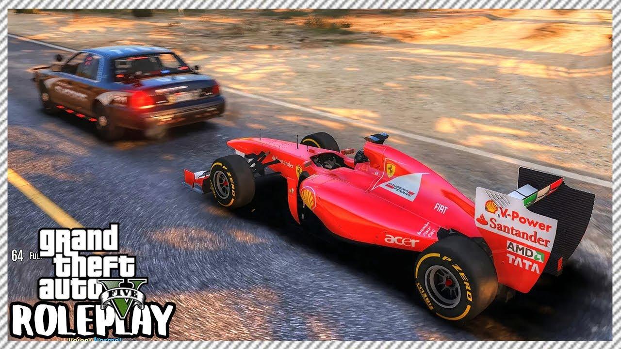 GTA 5 Roleplay - Formula 1 Police Chase | RedlineRP #486
