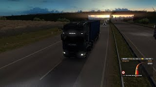 Euro Truck Simulator 2 Journey from Montpellier (France) to Irun (Spain)