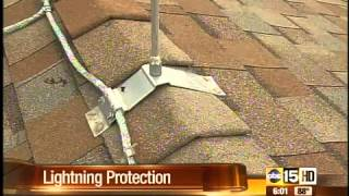 Lightning-proof your home with rods?