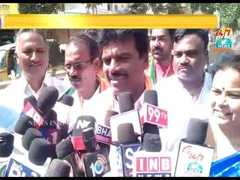 Nagarkurnool Bjp Candidate Dilipachari Nomination_INDIA TV Telugu