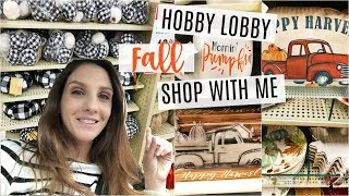 SHOP WITH ME | HOBBY LOBBY for FALL 2018