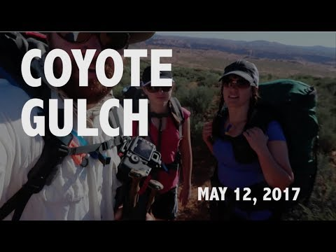 Backpacking Coyote Gulch in Utah's Escalante