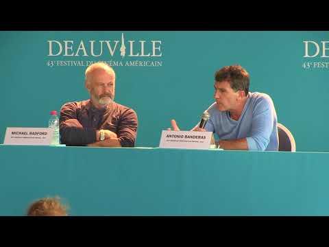 Deauville 2017 The Music of Silence press conference Antonio Banderas, Michael Radford