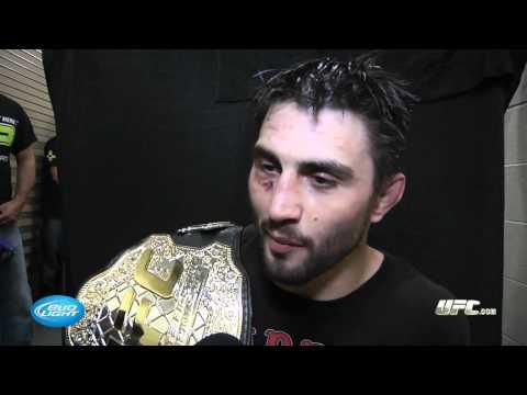 UFC 143: Carlos Condit Backstage Interview