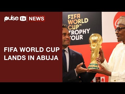 FIFA World Cup Trophy lands in Abuja | Pulse TV