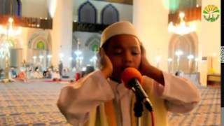 Beautiful Ahzan called out by a young boy