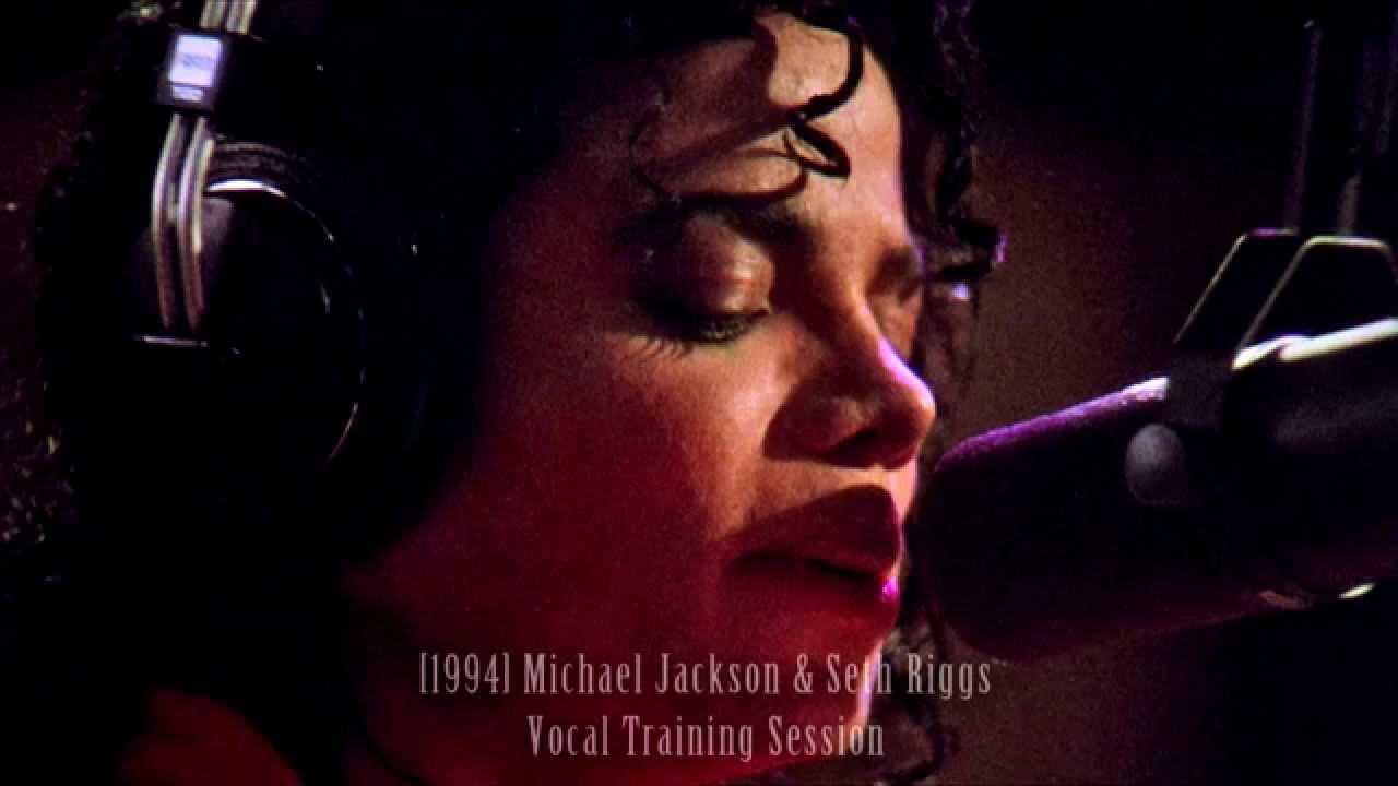 Michael Jackson & Seth Riggs Vocal Training Session