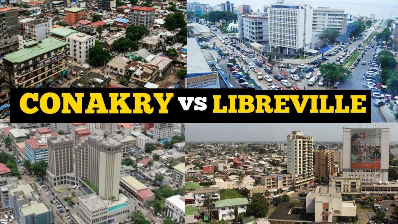 Download Conakry Guinea vs Libreville Gabon;Which City is More Beautiful? quel Vil est Plus Bel|Visit Afrika