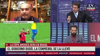 Copa América:  La Conmebol anunció que se jugará en Brasil. Eduardo Feinmann en LN+