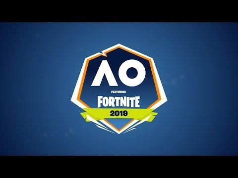Fortnite Summer Smash at AO 2019 LIVE | Australian Open 2019