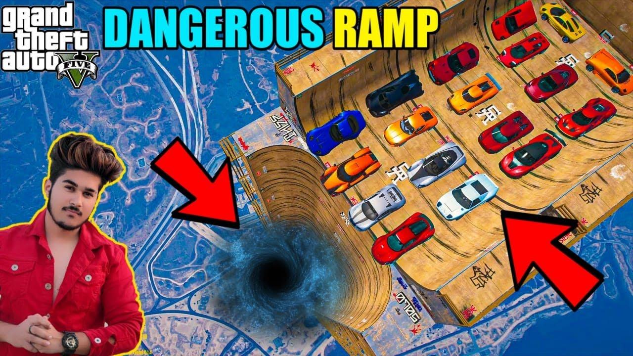 GTA 5 : MOST EXPENSIVE CARS VS DANGEROUS MEGA RAMP OMG !!!