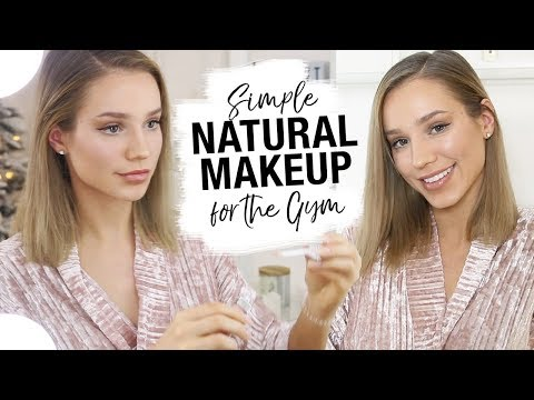 Simple Natural Makeup For The GYM