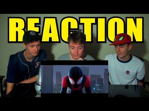 Spider-Man: Into the Spider-Verse Teaser Trailer Reaction