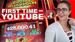 New Slot Machine | Rising Guardian slot on Las Vegas Strip | Casino Game