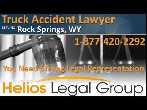 Rock Springs Truck Accident Lawyer & Attorney - Wyoming