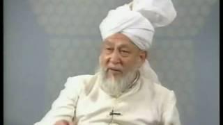 Liqa Ma'al Arab 26th September 1996 Question/Answer English/Arabic Islam Ahmadiyya