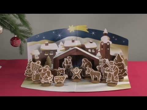 Gingerbread Christmas Nativity Scene TESCOMA DELÍCIA, set of cookie cutters